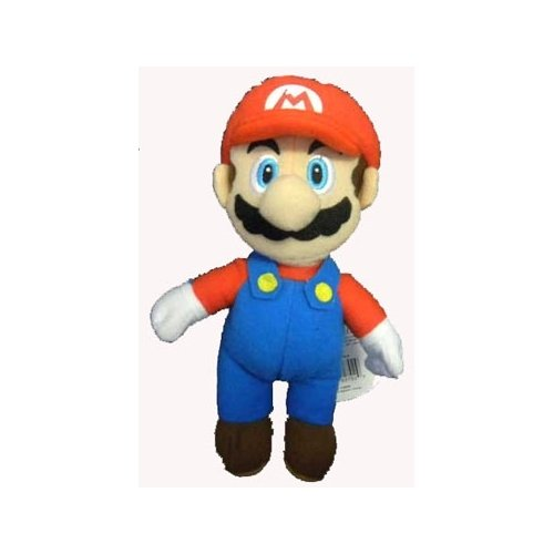 Mario Brothers Mario 7.5 inch plush Keychain