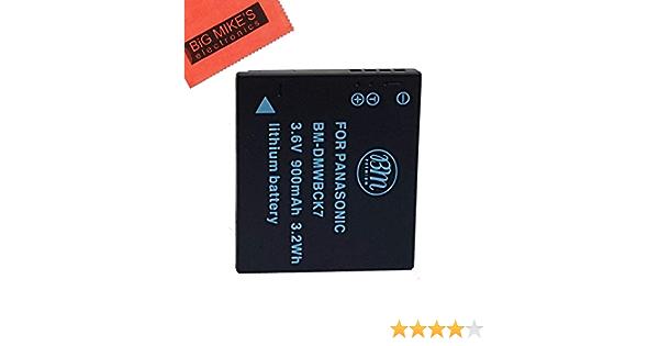 DMC-FS18 DMC-Fs22 3x BATTERY FOR Panasonic Lumix DMC-FS16 DMC-FS35 DMC-FS37