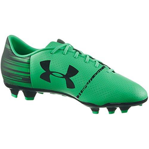Under FG de Armour Mint UA Homme Chaussures Compétition Spotlight Schwarz DL Football SSrfw