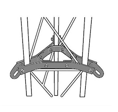 ROHN 45G Guy Bracket Assembly with Hardware - GA45GD - ROHN 45G Tower (R-GA45GD) ()