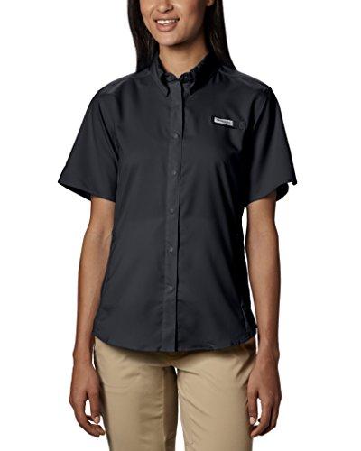 Columbia Women's Tamiami II Short Sleeve Shirt, X-Large, Black