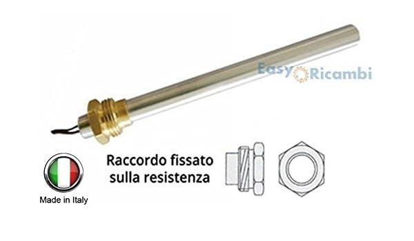 Resistencia Bujía Encendido para estufa de pellets 350 W 190 mm 180 mm; Diámetro 12,5 mm; Rosca 3/8: Amazon.es: Hogar