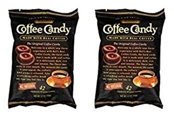 Balis Best Coffee Candy 42 Individually Wrapped Candies 5.3 oz (2 Pack)
