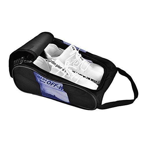維持するストレスの多いウミウシシューズケース 靴入れ シューズバッグ 2足 通気性 ゴルフ バスケットボール 旅行 アウトドア カッパ 登山 旅行 出張