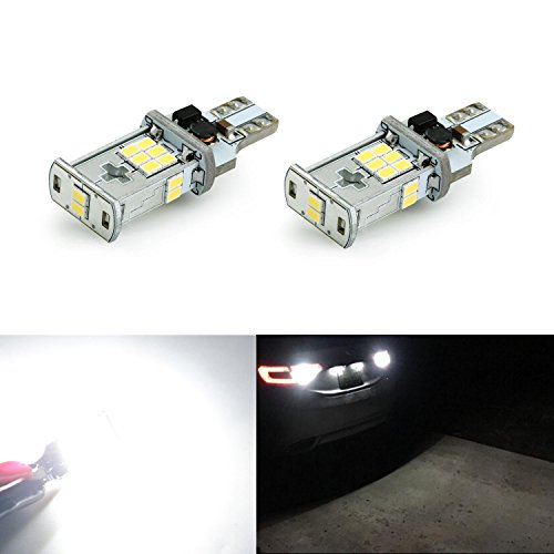 JDM ASTAR 1000 lumens Extremely Bright Error Free 360-Degree Shine 921 912 GX-3020 Chipsets LED Bulbs For Backup Reverse Lights, Xenon White