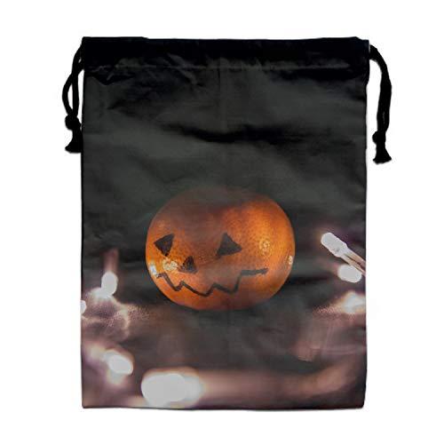 Price comparison product image Halloween Orange Drawstring Portable Storage Shoe Outdoor Travel Bag Dustproof Gift Bags