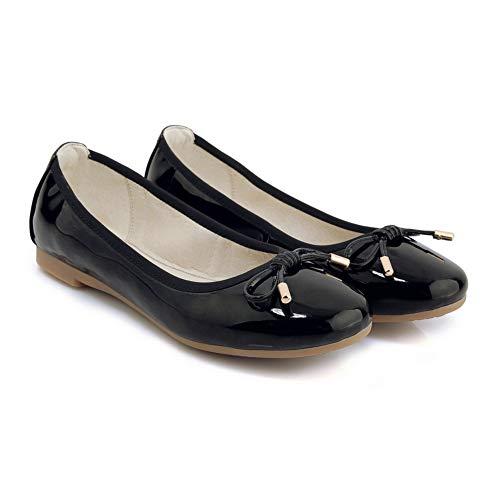 Sandales Noir Compensées AdeeSu SDC05968 Femme BWwSqx1g