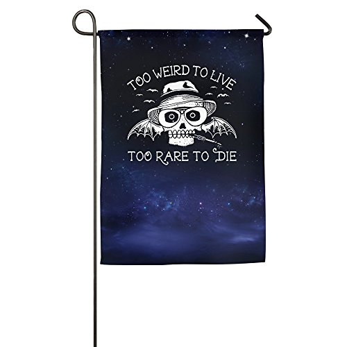 Hunter S Thompson Decorative Flags Yard Flag Halloween Flags (Hunter S Thompson Halloween)