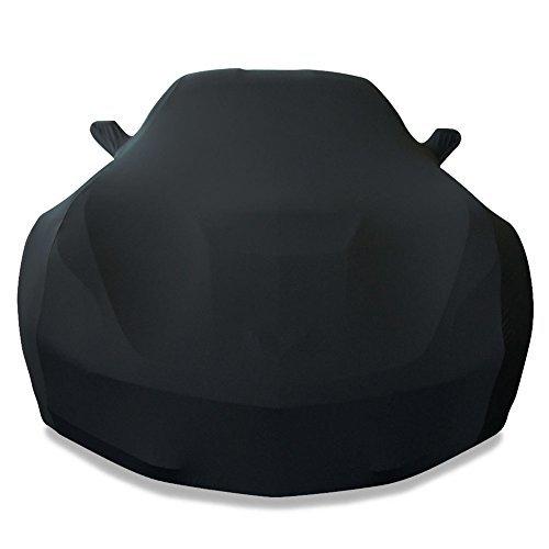 Corvette Z06 Car Cover - 2014-2018 C7 Stingray, Z51, Z06, Grand Sport Corvette Ultraguard Stretch Satin Indoor Car Cover (Black)