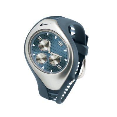 Nike Triax Swift 3i Analog Watch - Blue Fox/Silver - WR0091-447
