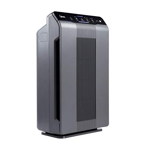 Winix 5300-2 Air Purifier with True HEPA, PlasmaWave and Odor Reducing Carbon Filter (Renewed)