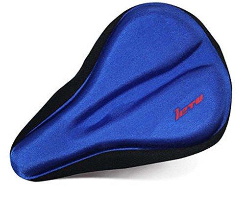 Hochwertige Silikon-Mountainbike-Sattel Fahrradsitz , Blau