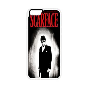 Scarface iPhone 6 4.7 Inch Cell Phone Case White Ywvh