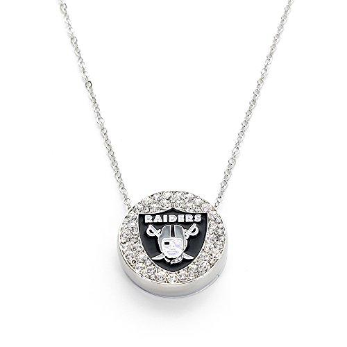aminco NFL Oakland Raiders Eclipse Pendant ()