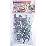 : 8 Piece Set of Cannon and Mortar Artillery for 48mm-60mm Plastic Army Men