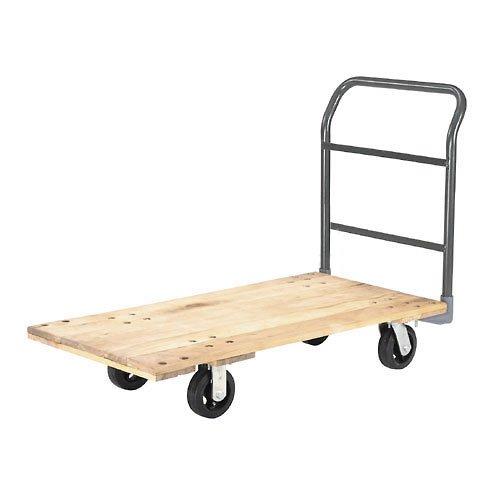Platform Truck w/Hardwood Deck, 48 x 24, 2000 Lb. Capacity, 6
