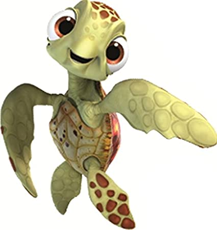 Amazoncom 3 Squirt Turtle Finding Nemo 2 Movie Removable Peel