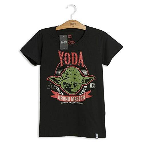 Camiseta Feminina Star Wars Yoda Grand Master