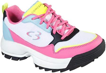 Concept 3 via Skechers Kids' On-it Lace-up Sneaker