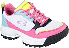 Concept 3 by Skechers Kids' On-it Lace-up Sneaker