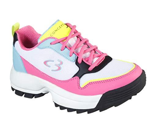 Concept 3 by Skechers Kids' On-it Lace-up Sneaker