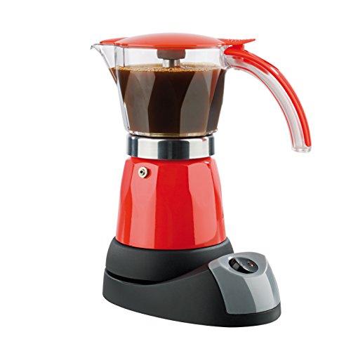 Tv Das Original 02609 Coffeemaxx - Cafetera Italiana eléctrica, color rojo