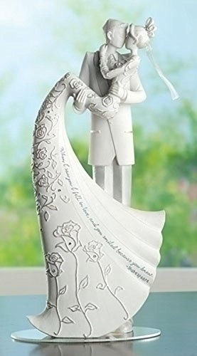 Language-of-Love-The-Kiss-Cake-Topper-9-Inch