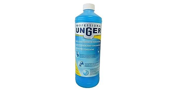 Unger 85542d líquido limpiador de vidrio, 1L.: Amazon.es ...