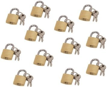 20mm-3-4-appx-mini-brass-lock-12-piece-set