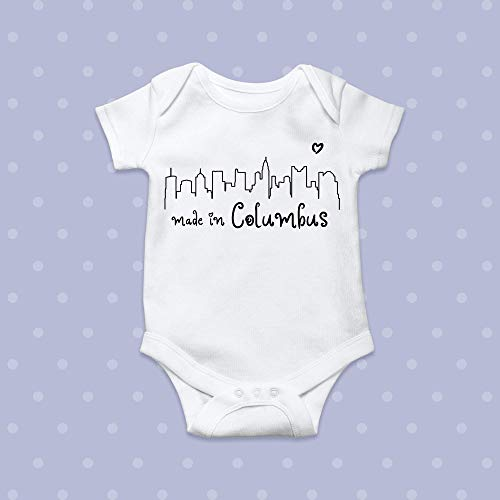 Made in Columbus Bodysuit Onesie -