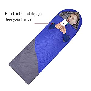 Sleeping Bag 100Duck Down Filling Portable Envelope Sleeping Bags For Adults Kids Great For 4 Season Camping Hiking Traveling Backpacking With Compression Sack Extreme Temp Rating 13 14 57lbs