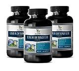 Liver Health Vitamins - Liver DETOXIFIER Complex 825MG - Extra Strength Formula - Artichoke Vitamins - 3 Bottles 180 Capsules