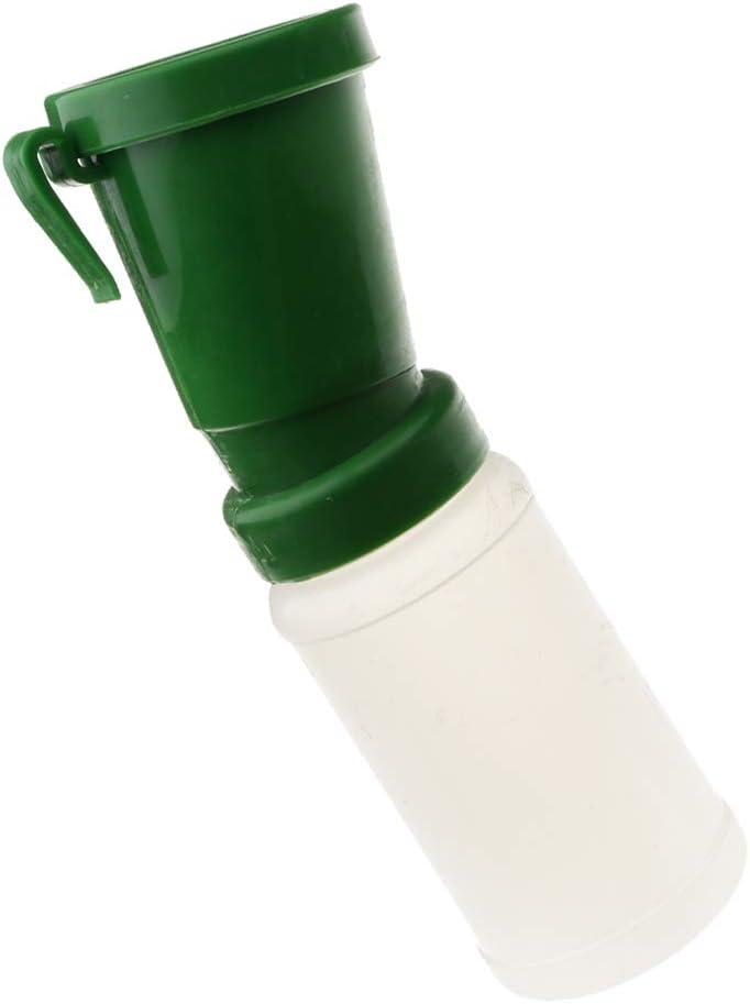 Sharplace Tasse de Nettoyage de Mamelon de T/étine de Ch/èvre Verte