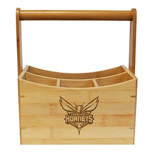 NBA Charlotte Hornets  Bamboo Utensil Caddy ()