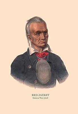 "Red Jacket (Seneca War Chief)Fine art canvas print (20"""" x 30"""")"
