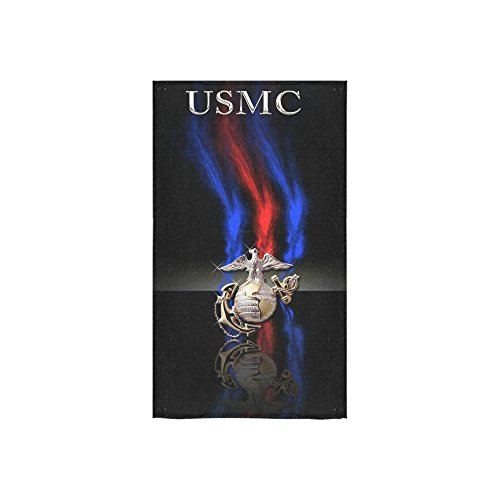 Christmas/New Year Gifts USMC Emblem,US Marines,US Marine Corps,Semper Fi Thin Soft Towel 16