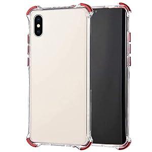 Robinsoni Cover Compatibile con iPhone XS Max Clear Silicone Transparent Cover Airbag a Quattro Angoli AntiGraffio… 2 spesavip