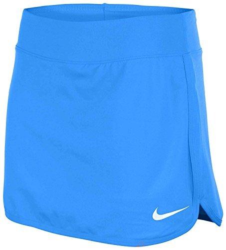 Nike Womens Pure Skort Light Photo Blue/White Skirt MD X 7 (Medium)