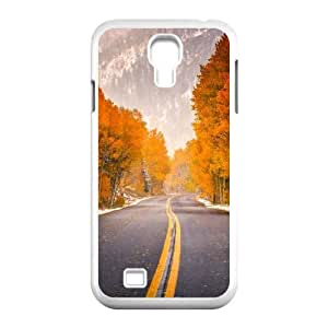 LSQDIY(R) autunm street SamSung Galaxy S4 I9500 Customized Case, Unique SamSung Galaxy S4 I9500 Durable Case autunm street