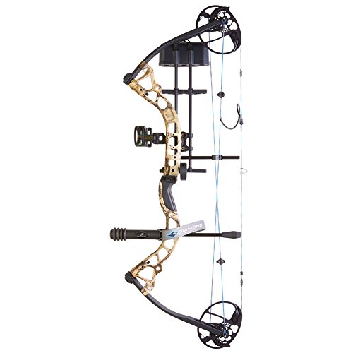 Diamond Archery Infinite Edge Pro Bow Package, Black Ops, Right (Diamond Compound Bow)
