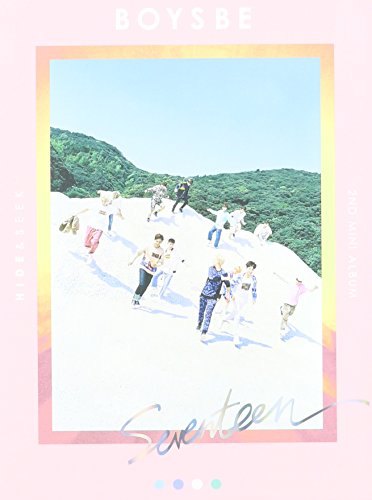 Price comparison product image SEVENTEEN - [ BOYS BE ] 3nd Mini Album HIDE Ver. CD + Photobook + Photocard + Postcard + Map + Sticker