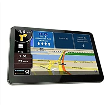 "Yatek Navegador GPS 5"" Bluetooth con FM, Tactil, Mp3, Videos, Mapas"