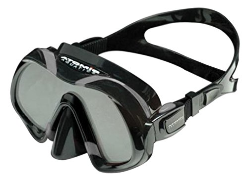 Atomic Aquatics Venom Scuba Diving Mask - Black/Grey by Atomic Aquatics (Image #1)