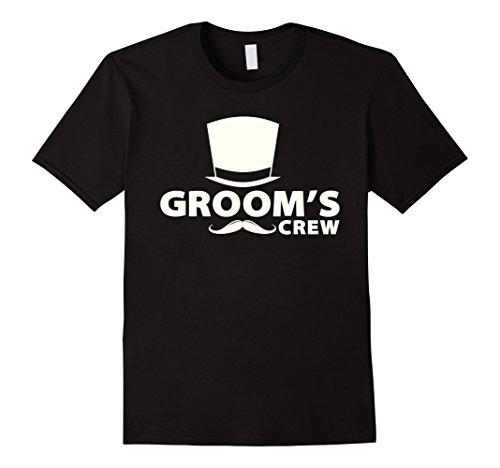 Mens Mens Funny Bachelor Party Shirt Groomsmen/Mustache/Wedding Medium (Bachelor Shirt Ideas)