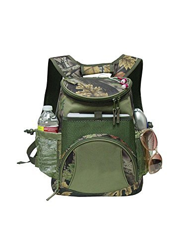 (GOODHOPE Bags G7722 Camo Ipad/Tablet Cooler Backpack, Green)