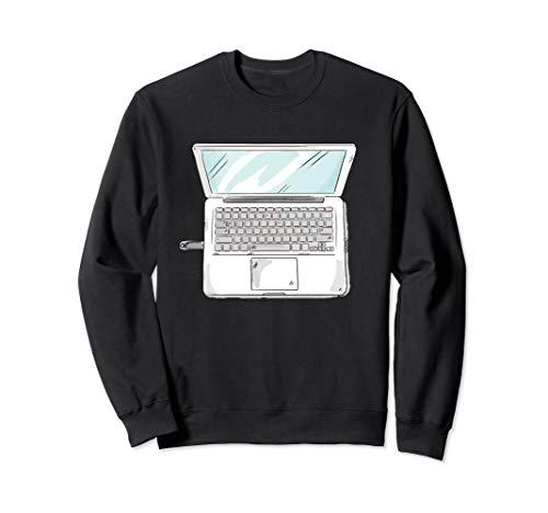 Laptop Halloween Costume Sweatshirt -