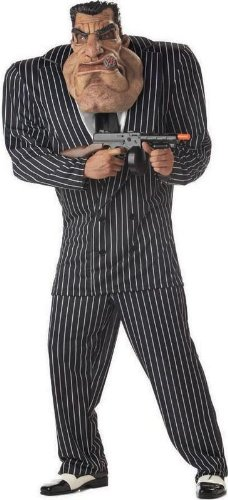 Massive Mobster Adult Costume - -