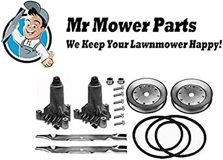 lawn mower schematics amazon com mr mower parts ayp 42  deck rebuild kit for sears murray lawn mower schematics amazon com mr mower parts ayp 42