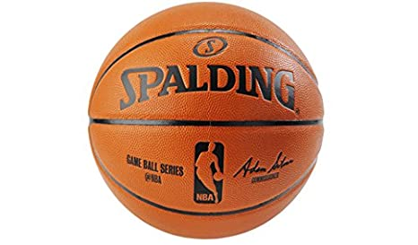 a1b3d7b54710 Image Unavailable. Image not available for. Color  Spalding NBA Replica  Indoor Game Ball Series Basketball