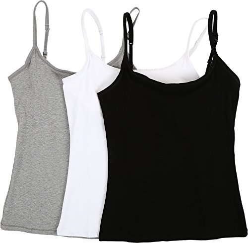 3 Pack Camisoles - 9